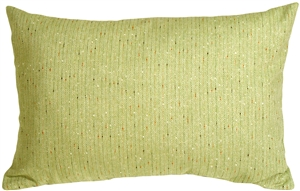 Herringbone Green Rectangular Decorative Toss Pillow