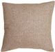 Herringbone Brown Square Decorative Toss Pillow