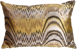 Alchemy Gold Rectangular Decorative Toss Pillow