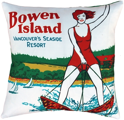 Bowen Island Indoor Outdoor Throw Pillow