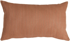 Ticking Stripe Sienna 12x20 Throw Pillow