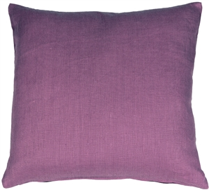 Tuscany Linen Purple 20x20 Throw Pillow