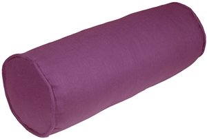 Tuscany Linen Purple 7x20 Bolster Pillow