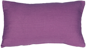 Tuscany Linen Purple 12x20 Throw Pillow