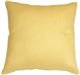 Tuscany Linen Banana Yellow 20x20 Throw Pillow