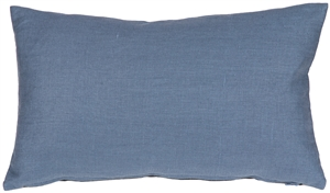 Tuscany Linen Wedgewood Blue 12x20 Throw Pillow