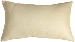 Tuscany Linen Cream 12x20 Throw Pillow