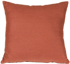 Tuscany Linen Sienna 17x17 Throw Pillow