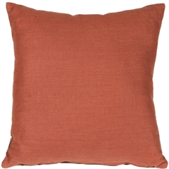 Tuscany Linen Sienna 20x20 Throw Pillow