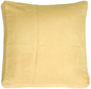 16x16 Box Edge Royal Suede Chamois Throw Pillow