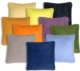 16x16 Box Edge Royal Suede Throw Pillows