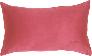 12x20 Royal Suede Pink Throw Pillow