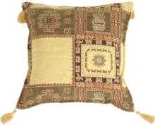 Block Prints Decorative Throw Pillow