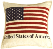 Patriotic Decorative Throw Pillow