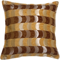 Chenille Waves 17x17 Throw Pillow