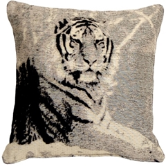 Tiger 17x17 Decorative Pillow