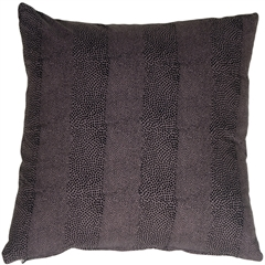 Cobra Print Cotton Large 22x22 Throw Pillow