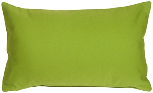 Sunbrella Macaw Green 12x20 Outdoor Pillow