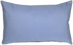 Sunbrella Air Blue 12x20 Outdoor Pillow