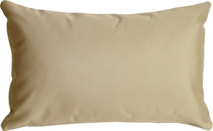 Sunbrella Antique Beige Outdoor Pillow