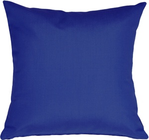 Sunbrella True Blue 20x20 Outdoor Pillow