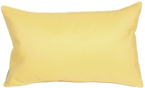 Sunbrella Cornsilk 12x20 Outdoor Pillow