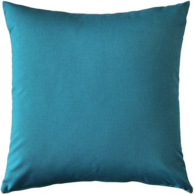 Sunbrella Peacock Outdoor Pillow