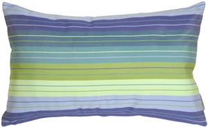 Sunbrella Seville Seaside 12x20 Outdoor Pillow