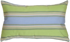 Sunbrella Bravada Limelite 12x20 Outdoor Pillow