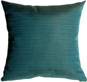 Sunbrella Dupione Deep Sea 20x20 Outdoor Pillow