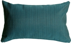 Sunbrella Dupione Deep Sea 12x20 Outdoor Pillow