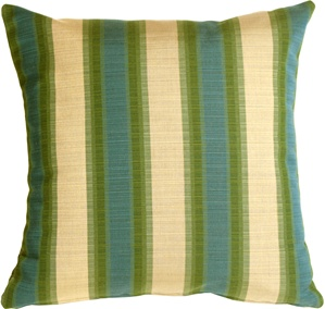 Sunbrella Dimone 20x20 Rainforest Outdoor Pillow
