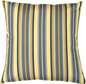 Sunbrella Foster Metallic Outdoor Pillow