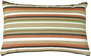 Sunbrella Scavo Autumn 12x20 Outdoor Pillow