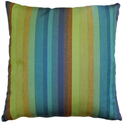 Sunbrella Astoria Lagoon 20x20 Outdoor Pillow