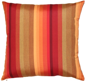Sunbrella Astoria Sunset 20x20 Outdoor Pillow
