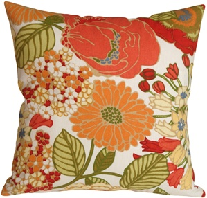 Sadie Pottery Barn Floral Outdoor Throw Pillow