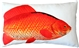 Goldfish Fish Pillow 12x20