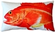 Rockfish Fish Pillow 12x20