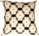 Zigzags on Cream Throw Pillow
