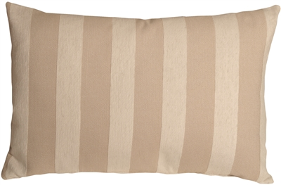 Brackendale Stripes Cream Rectangular Throw Pillow