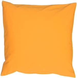 Caravan Cotton Amber Yellow 20x20 Throw Pillow