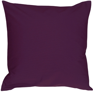Caravan Cotton Purple 16x16 Throw Pillow