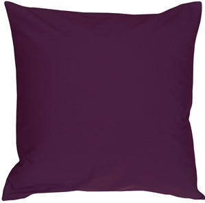 Caravan Cotton Purple 20x20 Throw Pillow
