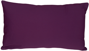 Caravan Cotton Purple 12x20 Throw Pillow