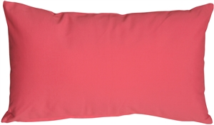 Caravan Cotton Pink 12x20 Throw Pillow