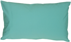 Caravan Cotton Turquoise 12x20 Throw Pillow