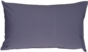 Caravan Cotton Denim Blue 12x20 Throw Pillow