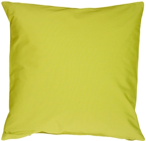 Caravan Cotton Lime Green 16x16 Throw Pillow