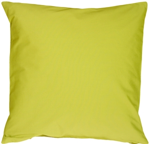 Caravan Cotton Lime Green 20x20 Throw Pillow